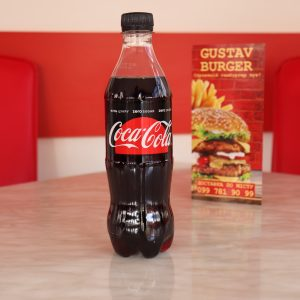 Кока-Кола Зеро, бутильована 0,5 л.