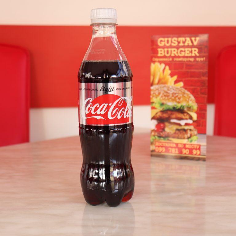 Кока-Кола Лайт, бутильована 0,5 л.