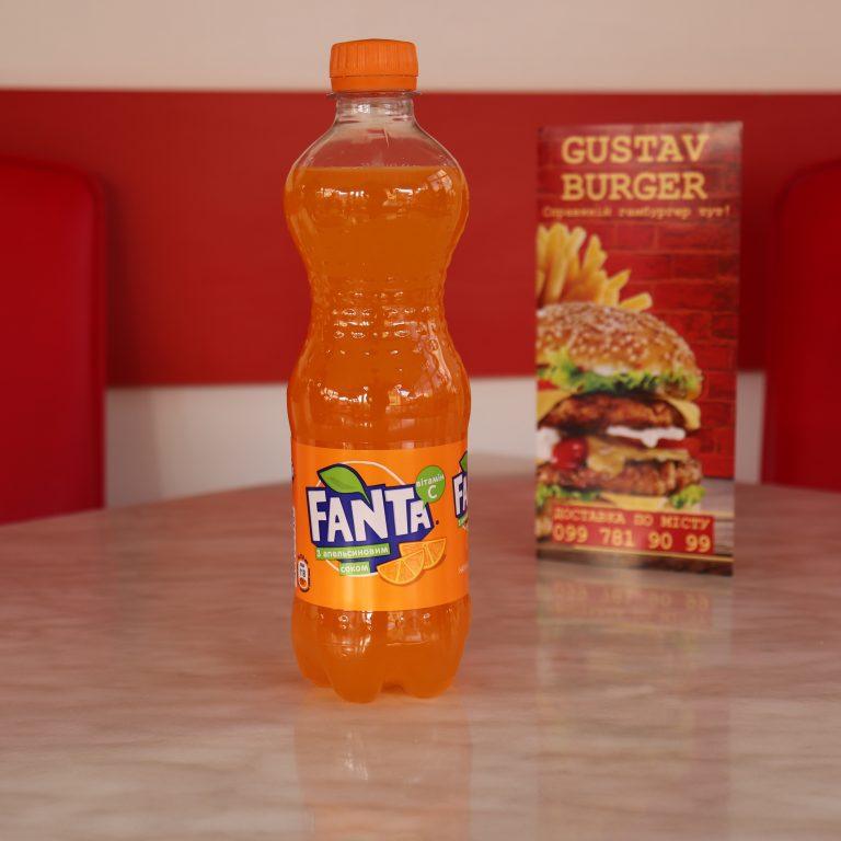 Фанта Апельсин, бутильована 0,5л.