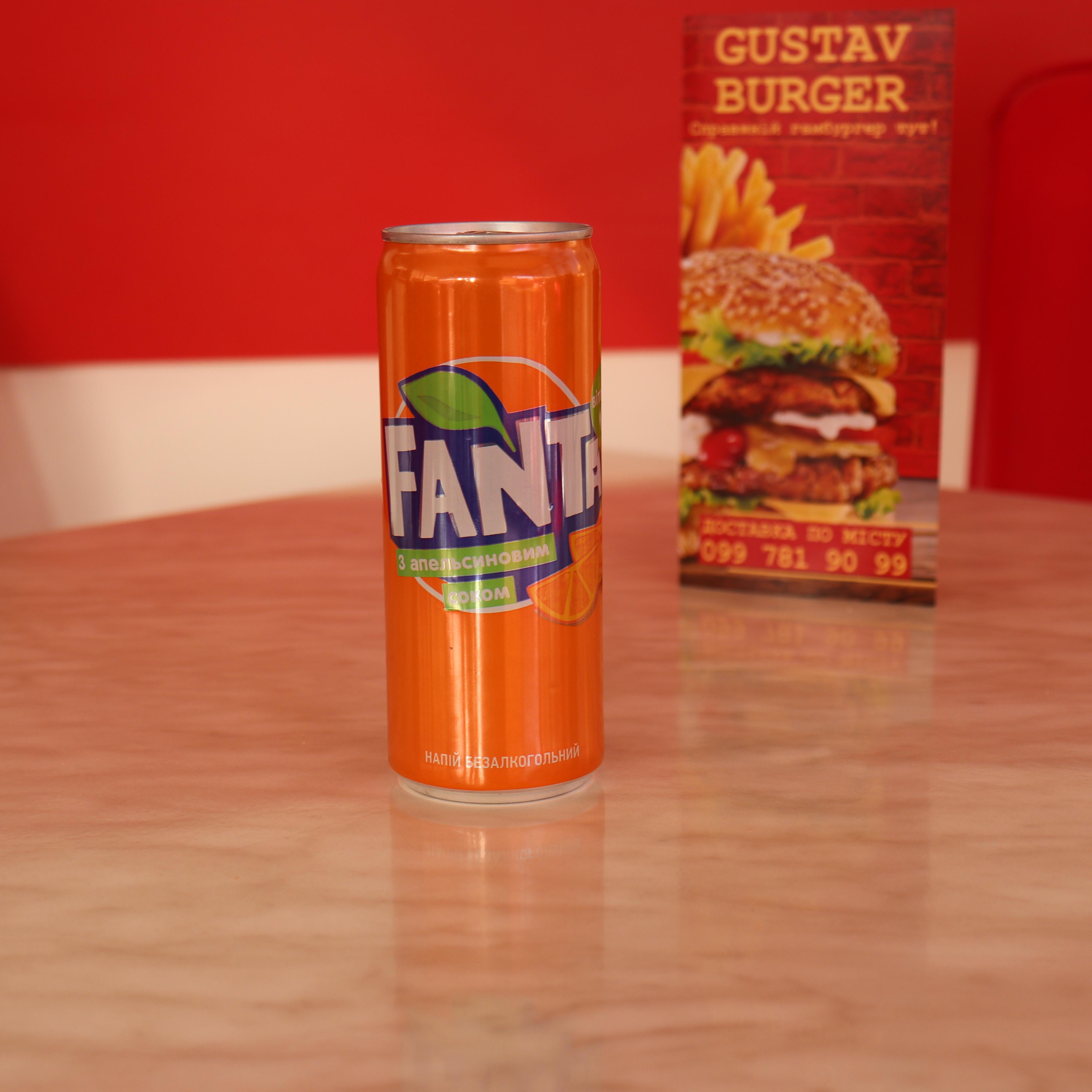 Фанта Апельсин, жб. 0,33л.