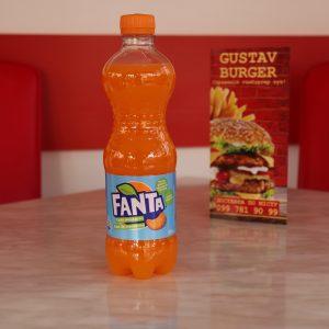 Фанта Мандарин, бутильована 0,5л.