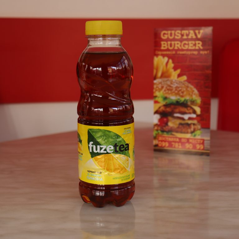 Чай Фузетеа лимон, бутильована 0,5л.